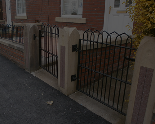 Single Gates Railings